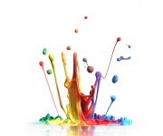 Antimicrobial protection for paints, coatings, ink and lacquer
