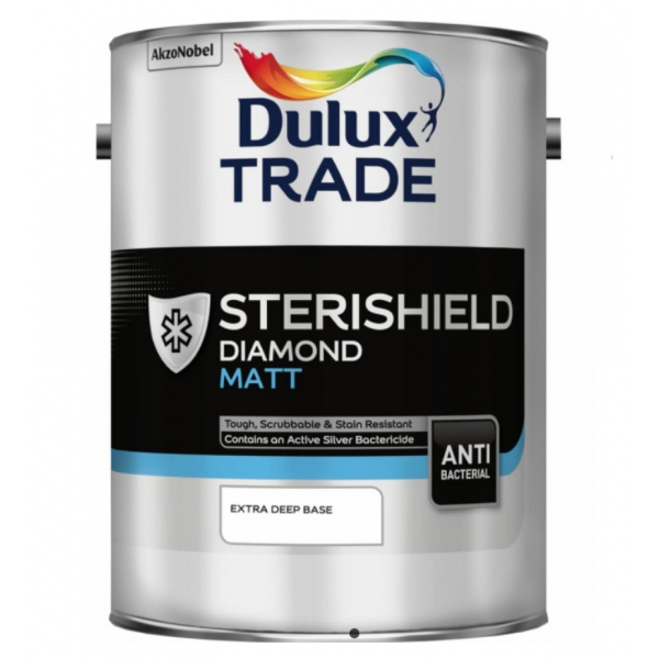 Biomaster enables Sterishield paint to provide a more hygienic environment