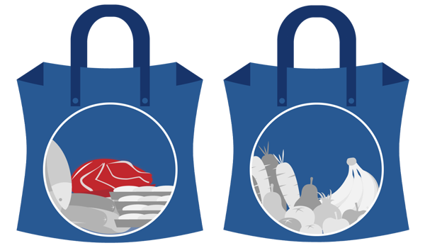 Campylobacter bacteria can survive in reusable shopping bags for 8 weeks