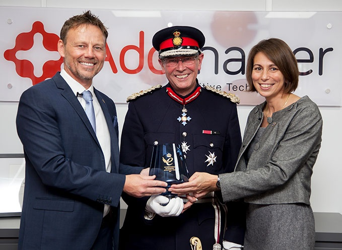 Addmaster CEO Paul Morris is awarded a second queens Award