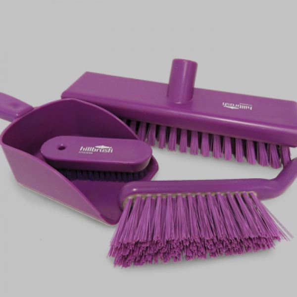 Biomaster ensures lifelong antimicrobial protection for Hillbrush cleaning tools