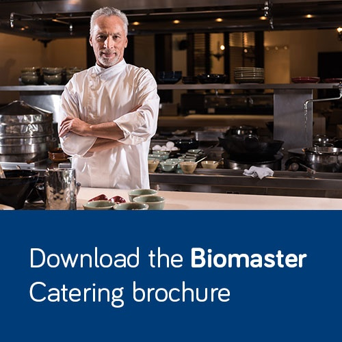 Download the Biomaster catering brochure