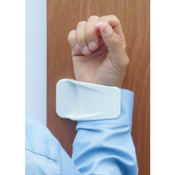 Biomaster technology is incorporated within the hygienic Hands-Free Door Handle